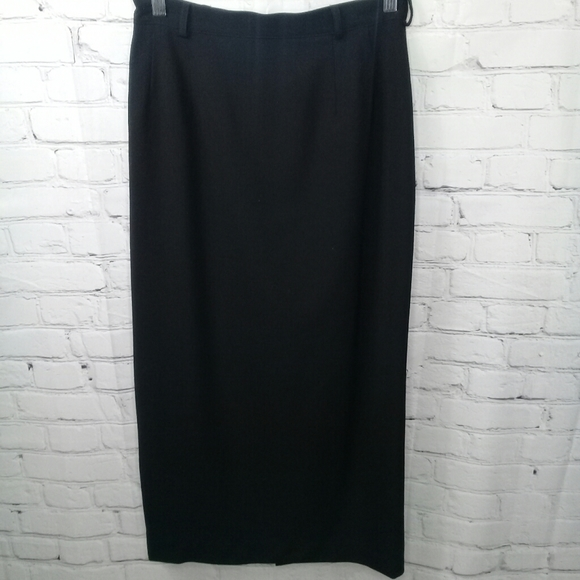 Austin Reed Skirts Vtg Austin Reed 0 Wool Pencil Skirt Black Sz 8 Poshmark